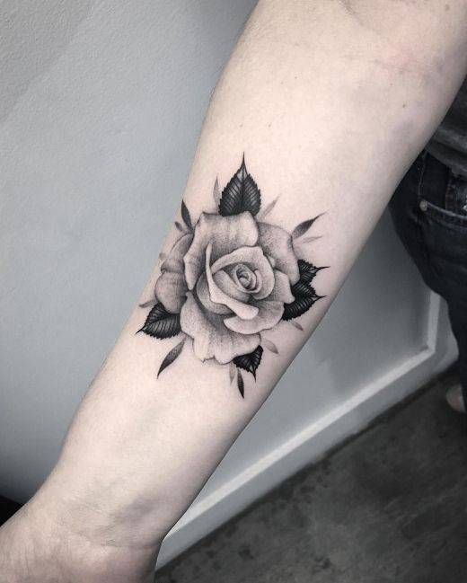 tattoo rose 4